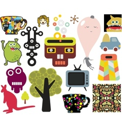 Mix of different images vol63 vector