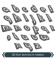 Geometric typescript in rotation 3d small vector