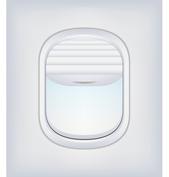 Window airplane 02 vector