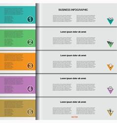 Infographic 5 vector