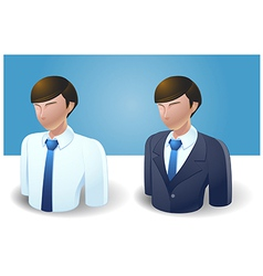 People icons businessman vector