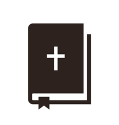Bible icon vector
