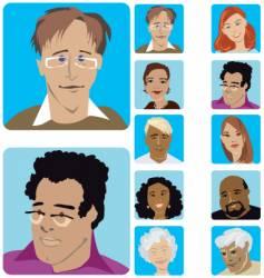 Face set vector