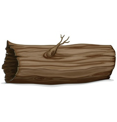 Hollow log vector