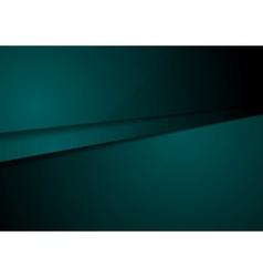 Dark green corporate tech design art vector