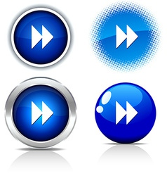 Forward buttons vector