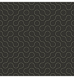 Geometric curves pattern vector