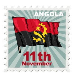 National day of angola vector
