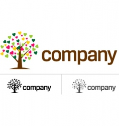Dating company icon vector