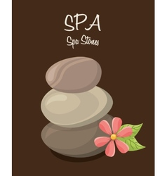 Spa therapy design vector