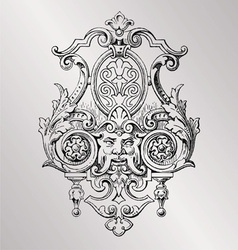 Victorian decoration vector