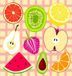 Fruit design vector