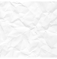 Paper crumpled vector