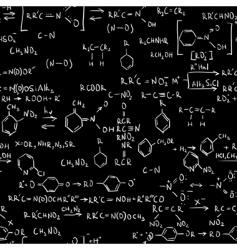Chemistry formulas vector