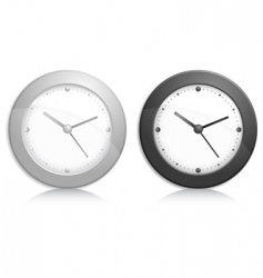 Wall clock object vector