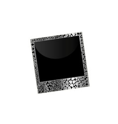 Love polaroid vector