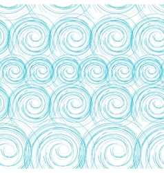 Blue waves seamless vector