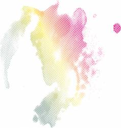 Colors splash design vector