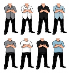 Bodies pack vector