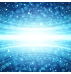 Blue lens sparkle effect vector