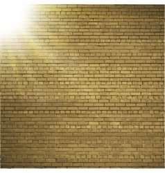 Abstract brick background blurry light effects vector