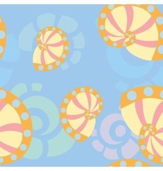 Sea shells background 1 vector