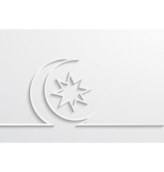 Modern ramadan background design vector