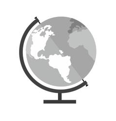 Globe earth vector