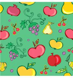 Fruits wallpaper pattern vector