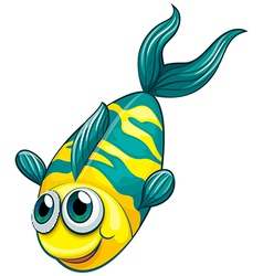 An aquatic fish vector
