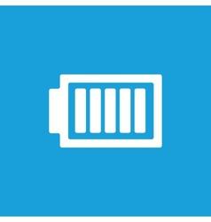 Full battery symbol vector