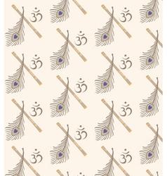 Indian symbol seamless vector