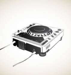Remote dj vector
