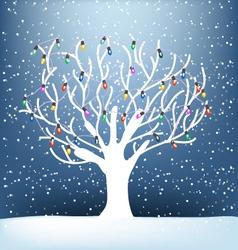 Tree noel vector