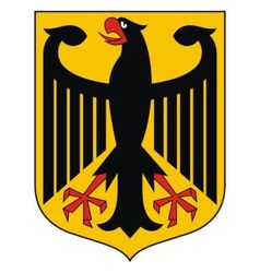 Germany coat of arms vector