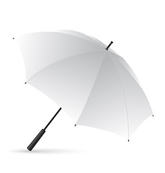 White umbrella vector