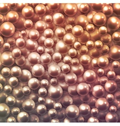 Background with pearls vector