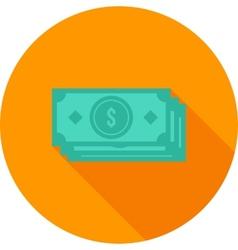 Dollar bills vector