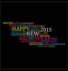 Creative new year 2015 design stock vector