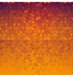Gradient abstract triangles background vector