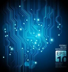 Neon circuit vector