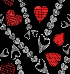 Valentine day and love theme background vector