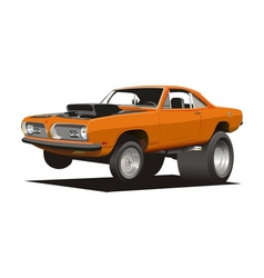 Cartoon cuda vector
