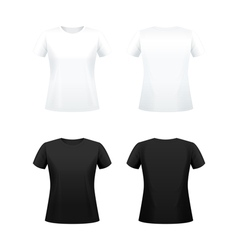 T shirts for women vector