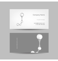Business card design with letter j vector