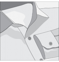 Gray shirt vector