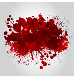 Background with red blots vector