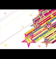 Comet of gift vector