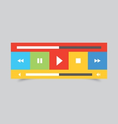 Music player 50 vector