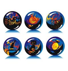 Magic balls vector